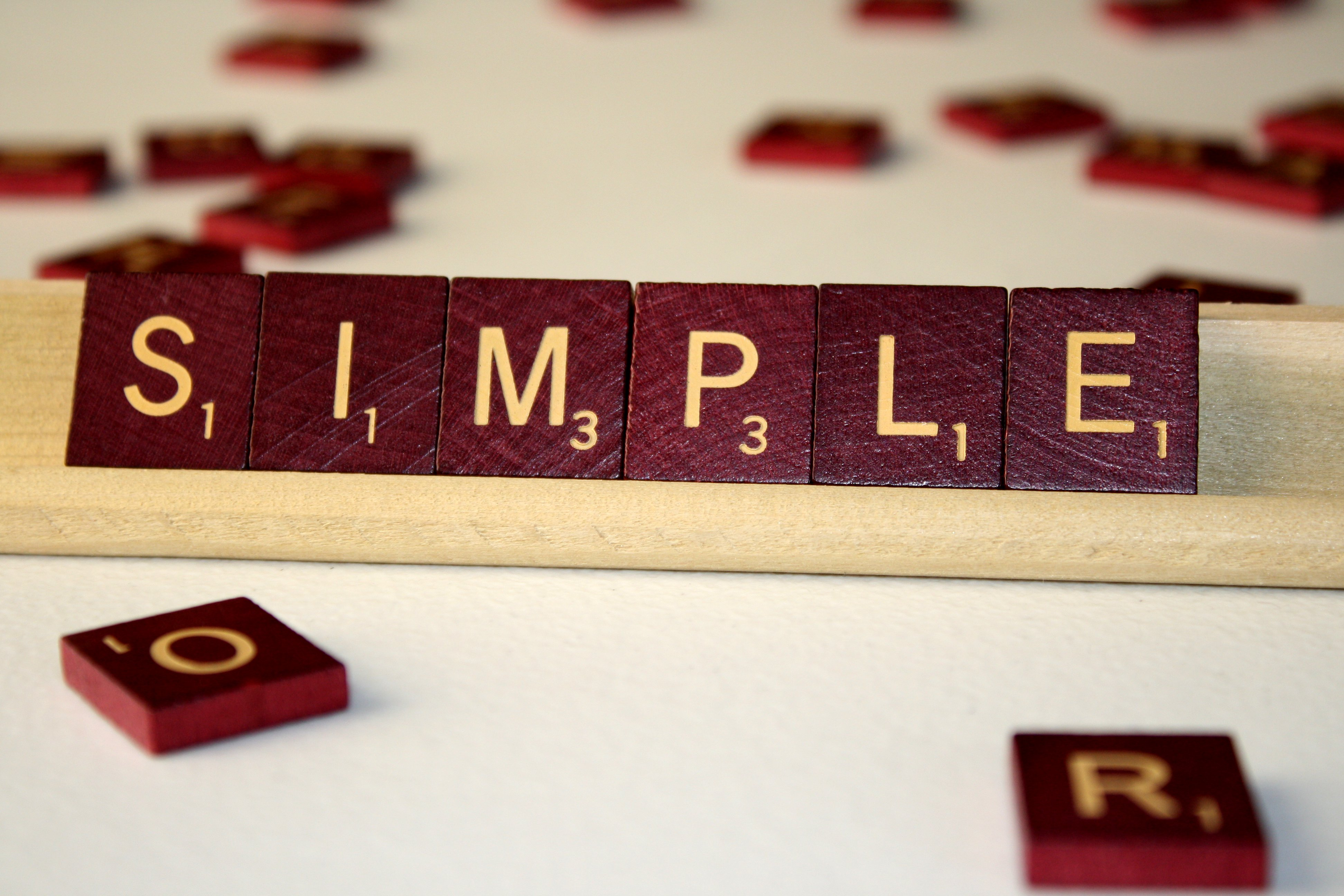 "What is ""simple"" when it comes to product development?"